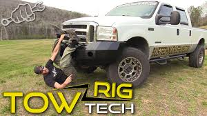 Iron Cross Bumper Install - Tow Rig Tech Episode 4 - YouTube