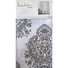 amazon com nicole miller pair of window curtains panels drapes