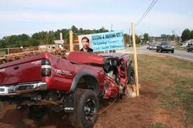 100 Wrecked Truck Truck Warns Of Text Driving Dangers News Northfultoncom