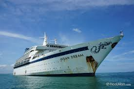 Cruise Ship Sinking 2007 by Ocean Dream Passenger Ship Imo 7211517