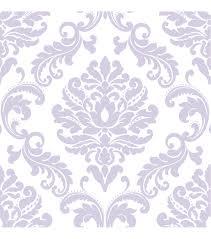WallPops NuWallpaper Purple Ariel Damask Peel And Stick Wallpaper