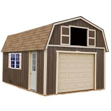 12x24 Shed Plans Materials List by Wood Sheds Sheds The Home Depot