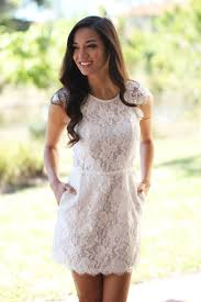 white lace dress with pockets short dresses u2013 saved by the dress