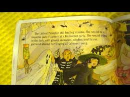 Shake Dem Halloween Bones Read Aloud by Halloween The Littlest Pumpkin Picture Book Read Aloud