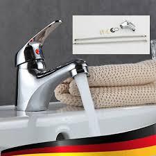 badarmatur wasserhahn mit kappe waschtisch mischbatterie neu
