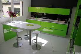idee plan cuisine idee plan de travail cuisine 0 cuisine leicht couleur verte jet set