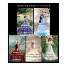 Jual Scandalous Highlander Series By Suzanne Enoch