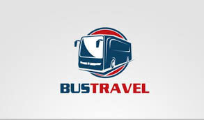Logo Design Templates Bus Travel