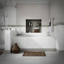 Thinset For 12x24 Porcelain Tile by Shop Style Selections Chique Gris Porcelain Floor Tile Common 12