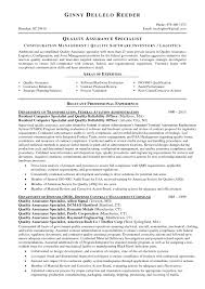 Best S Of Resumes For Government Contract Specialist Manager Resume