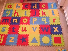 ELC foam alphabet puzzle mat
