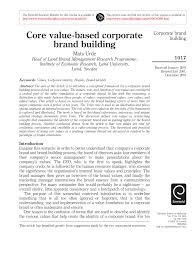 PDF) Urde (2003) Core Value-based Corporate... Movers Who Blog In Nashville Tn Just Another Two Men Blogs Site I Visited 5 Super Awesome Places To Work Kansas City And Heres About Us And A Truck A Of Princeton 10 Photos 41 Twosome Tmt Portland Maine Twonportlandme Instagram Profile Picbear Cash Cowboys Aim Be True Their Core Values Reality Tv Bbb Business Wilmington Ma Two Men And Truck Help Us Deliver Hospital Gifts For Kids Franchise Deal With