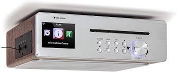 auna silverstar chef küchenradio unterbauradio 10w rms 20w max cd player bluetooth funktion radio dab ukw 2 4 tft farbdisplay