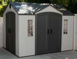 Garden Sheds Lifetime 10 x8 Storage Outdoor Plastic Storage Shed