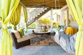 Bamboo Patio Curtains Outdoor by Patio Outdoor Curtains Create Shade And Privacy Outdoors With