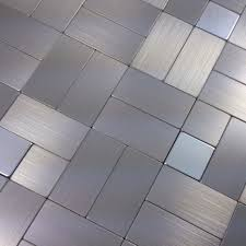 mosaic tiles silver wall stickers tile self adhesive kitchen