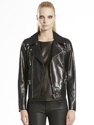 gucci leather jacket women