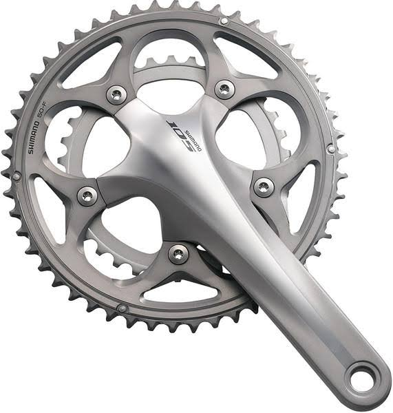 Shimano 105-FC 5700 Crankset - Black, 172.5-mm, 50/34T, 10 Speed