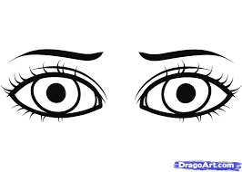 Eye Coloring Pages