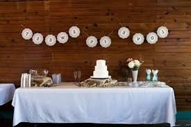 Wedding Reception Cake Table Decorating