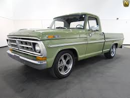 This 1971 Ford F-100 Is The Perfect Weekend Cruiser - Ford-Trucks.com 71vaf100 1971 Ford F150 Regular Cabs Photo Gallery At Cardomain F100 Long Bed Fleetside 71fo0434d Desert Valley Auto Pickup Trucks Stock Photos Images Shop Truck With 45k Miles Is So Much Want Fordtruckscom For Sale Near Mesa Arizona 85213 Classics On F350 Custom Camper Special Flatbed Pickup Truck Ford F100 Sport Custom Built By Counts Kustomsat Celebrity Cars Las