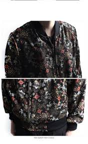 minsobi rakuten global market sheer floral print blouson floral
