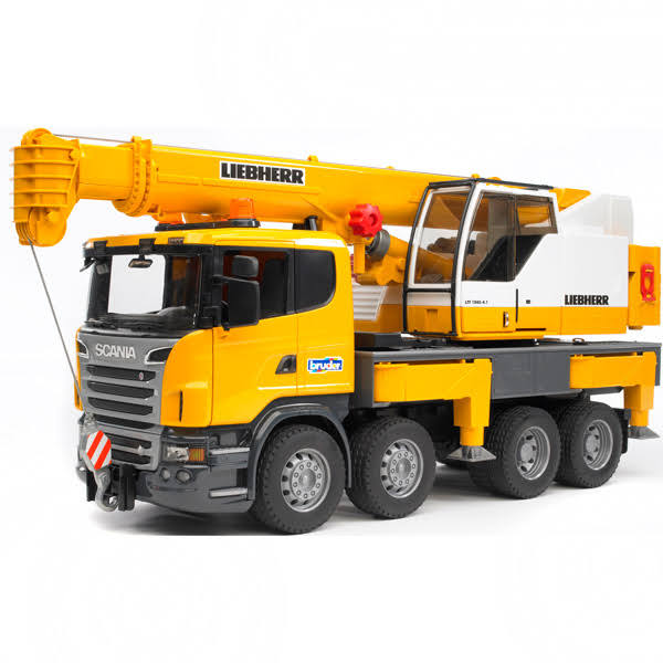 Bruder Scania Toy Crane