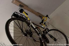 installing a ceiling hoist bike rack denyconformity com