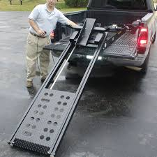 100 Truck Bed Motorcycle Lift Rampage Power Powered Ramp 8 Long