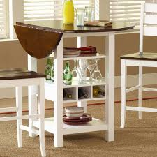 Winsome Lynnwood Drop Leaf Counter Height Pub Table ...