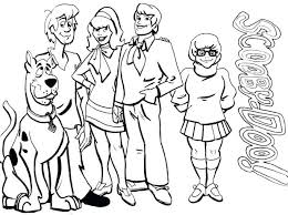 Free Printable Scooby Doo Coloring Sheets Colouring Pages To Print