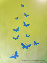 Wall Art Handmade Stenciling A Try