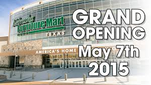 GRAND OPENING of Nebraska Furniture Mart in Texas May 7th 2015