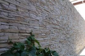 wandverkleidung wandverblender stein naturstein platten