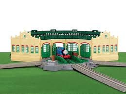 Thomas And Friends Tidmouth Sheds Trackmaster by Amazon Com Thomas The Train Tidmouth Sheds Toys U0026 Games