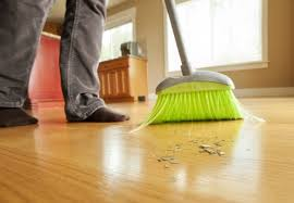 Electric Broom For Wood Floors by How To Clean Bamboo Flooring Bob Vila
