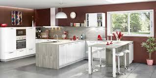 cuisine moderne ouverte cuisine ouverte et moderne coloris blanc inspirations et modèle de
