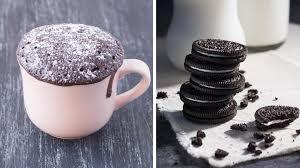 blitzschneller oreo kuchen mug cake mit nur 2 zutaten