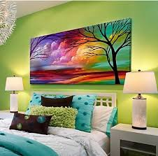 Buy Hand Painted Canvas Modern Landscape Natural Scenery Painting For Living Room Bedroom Decor Paintings Wall From Behr Virtual Paint