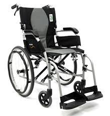 Transport Chair Or Wheelchair by Ergo Flight S 2512 Ultra Lightweight Wheelchair Karman Healthcare