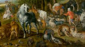 A Detail From The Entry Of Animals Into Noahs Ark By Jan Brueghel