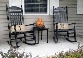 Decorating Outdoor Wooden Rocking Chair Garden Rocking Chair Metal ...
