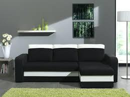 canapé noir et blanc convertible canape noir et blanc convertible canapac dangle en cuir pu zoac