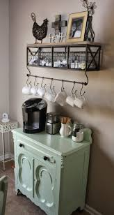 Rustic Kitchen Decor Ideas Photo Of Dbdccabcb Bar Coffee Station