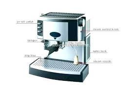 Mr Coffee Espresso Maker Parts Machine Replacement In Usa
