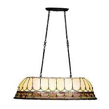 Home Depot Tiffany Table Lamps by Kichler Lighting 65244 3 Light Dunsmuir Island Billiards Pool