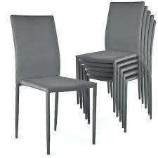 lot 6 chaises pas cher chaise moderne grise pas cher lot de 6