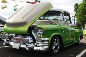Pretty & Powerful 55 GMC Pickup - CMW Trucks