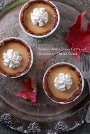 Pumpkin Pie With Gingersnap Crust Gluten Free by Pumpkin Spice Panna Cotta With Gingersnap Toffee Crust