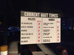 Halloween Mazes In Los Angeles by Universal Studios Hollywood Halloween Horror Night Picture Of